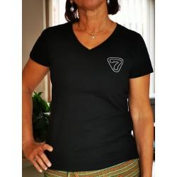 T-shirt Noir Femme (Non- adh.)